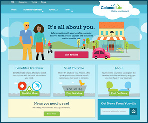Colonial Insurance Consumer Web-site